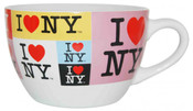 I Love NY Collage Soup Mug