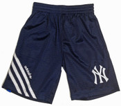Yankees Youth Navy Mesh Soccer Shorts