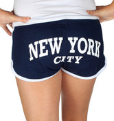 New York City Navy Hi-Cut Shorts - back