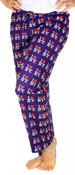I Love NY Purple Allover Print Pajama - front