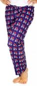 I Love NY Purple Allover Print Pajama - front