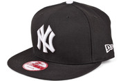 NY Yankees 9Fifty Snapback Hat - Black
