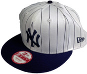 NY Yankees 9Fifty Snapback Hat - Pinstripe
