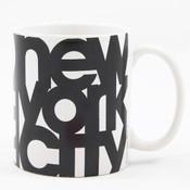 New York City Bold 11 oz Mug - White