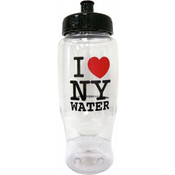 I Love NY Plastic Water Bottle