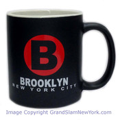 NYC Brooklyn Circle Matte 11oz Mug