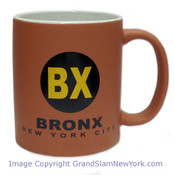 NYC Bronx Circle Matte 11oz Mug