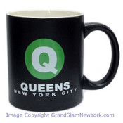 NYC Queens Circle Matte 11oz Mug