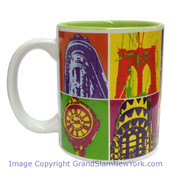 NYC Colorful Screen Collage 11oz Mug