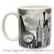 NYC B & W Collage Photo 11oz Mug