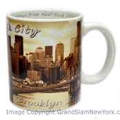 NYC Brooklyn Bridge Photo 11oz Mug