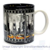 NYC Filmstrip Black & White 11oz Mug