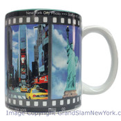 NYC Filmstrip Full Color 11oz Mug