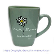 NYC Daisy Square Shaped Bistro Mug