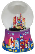 NYC Times Square Base 45mm Snowglobe