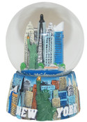 NYC Monuments 45mm Snowglobe