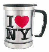 I Love NY 11 oz Travel Mug