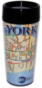 NYC Subway Map Tall Travel Mug