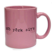 Noo York Site Pronunciation Mug - Pink