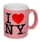 I Love NY Mini Mug - Pink