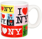 I Love NY Collage Mini Mug
