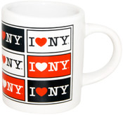 I Love NY Repeat Mini Mug