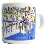 NYC Subway Map Mini Mug