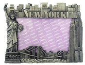 NYC Icons 4 x 6 Metal Picture Frame
