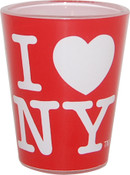 I Love NY Red Shot Glass