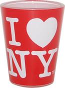I Love NY Red Shot Glass
