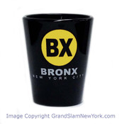 Bronx BX Black Shot Glass