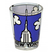 NYC Empire State Building Shot Glass