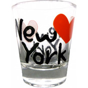 New York Heart Shot Glass