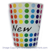NY Polka Dots Shot Glass