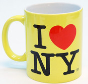 I Love NY Mug - Yellin Yellow