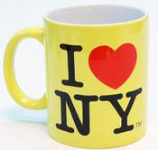 I Love NY Mug - Yellin Yellow