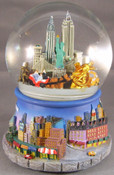 NYC Rotating Musical 100mm Waterglobe
