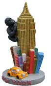 King Kong Climbing Empire State Paperweight