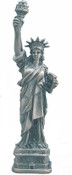 Pewter Statue of Liberty - 6 Inch
