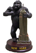King Kong Empire State Figurine - 3 Inch