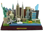 NY City Skyline Model - Rectangle