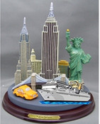 NYC Icons Color Paper Weight - Large