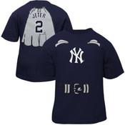 """Yankees Baby Derek Jeter """"Super Baby"""" Navy Tee"""
