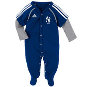 "Yankees Baby Adidas  ""Player"" Layered Coverall"