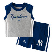 "Yankees Baby Adidas ""Base Hit"" Short Set"
