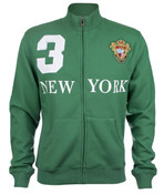 Green New York 3 Series Full Zip Sweatshirt - front