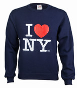 I Love NY Crewneck Sweatshirt - Navy
