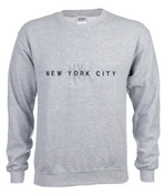 New York City #12 Ash Crewneck Sweatshirt