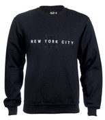 New York City #12 Black Crewneck Sweatshirt