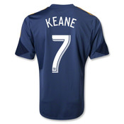 Robbie Keane Navy Replica Youth Jersey: LA Galaxy